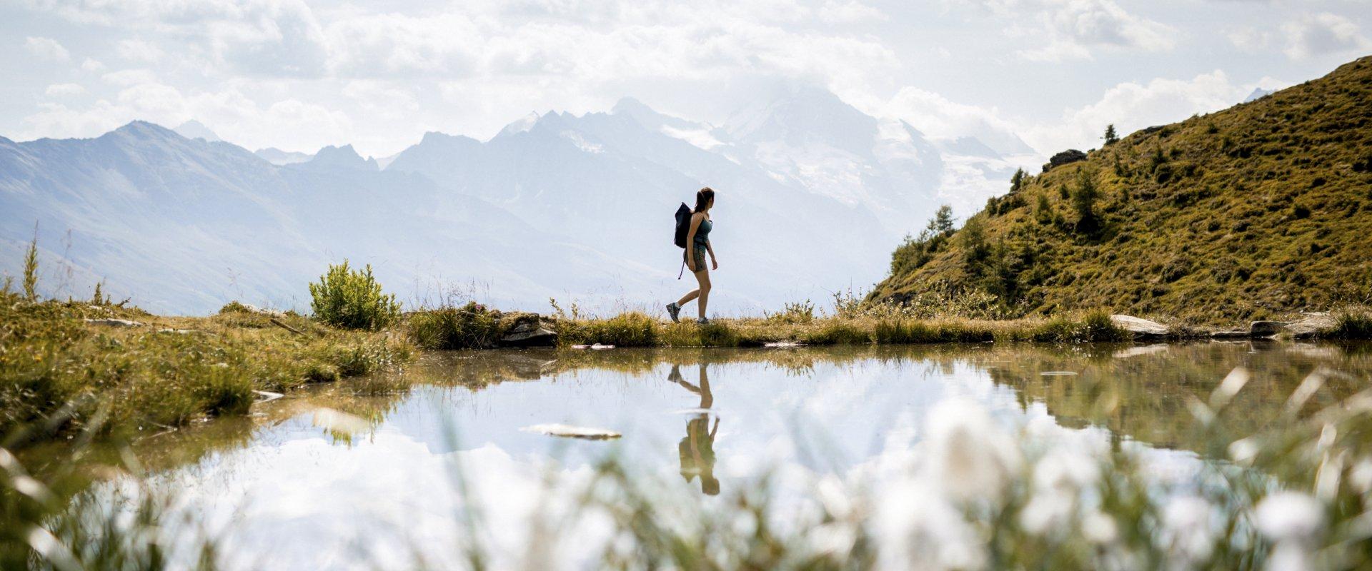 Randonnée dans le Val d'Hérens