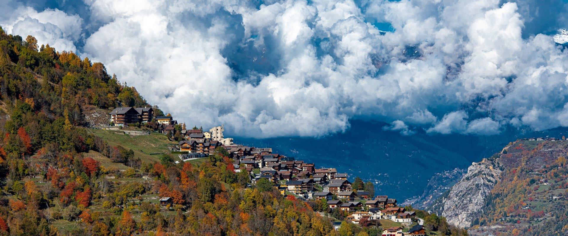Hérémence et ses hameaux traditionnels