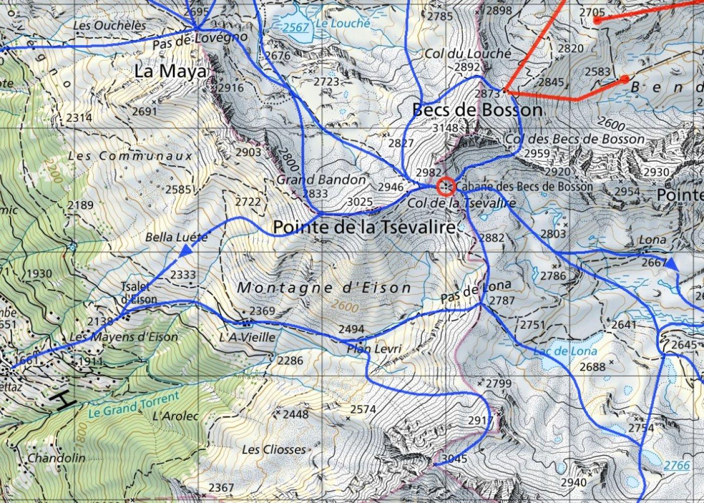 Tous les itinéraires référencés de la vallée