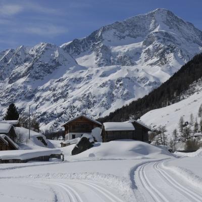 Secteur nordique et piste de ski de fond d'Arolla