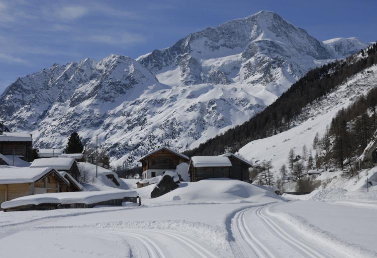 Piste de ski de fond d'Arolla