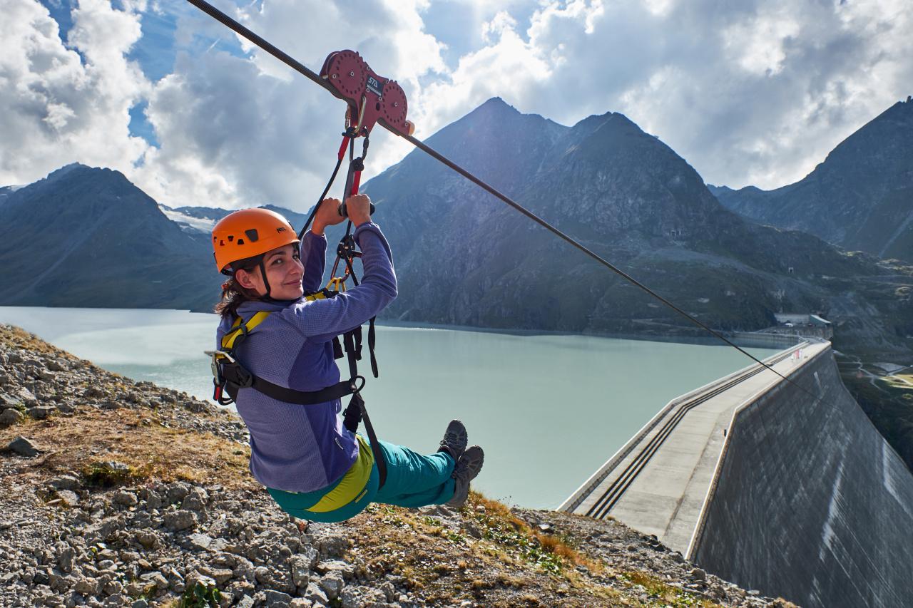La Grande Dixence - Plus haut barrage d'Europe