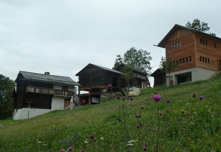 Le hameau d'Ossona