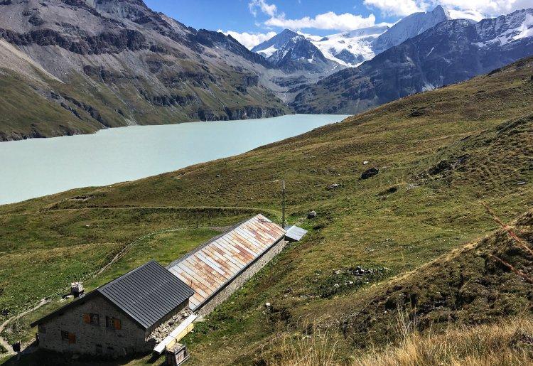 Die Hütten des Val des Dix
