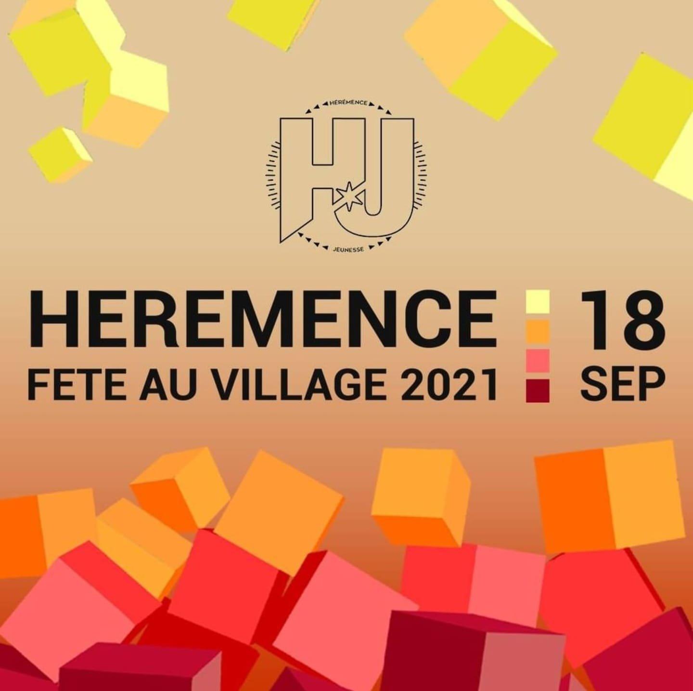 Fête au village à Hérémence