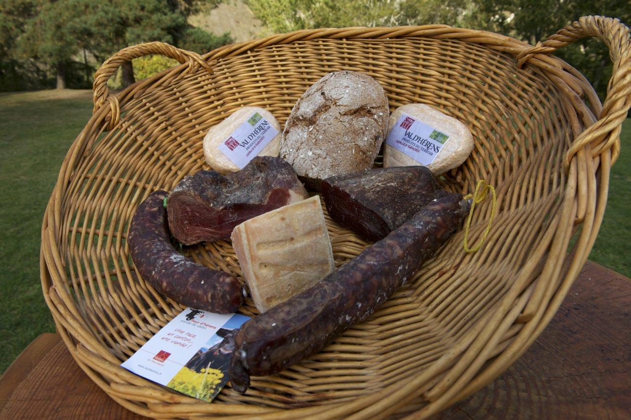 La viande du Val d'Hérens