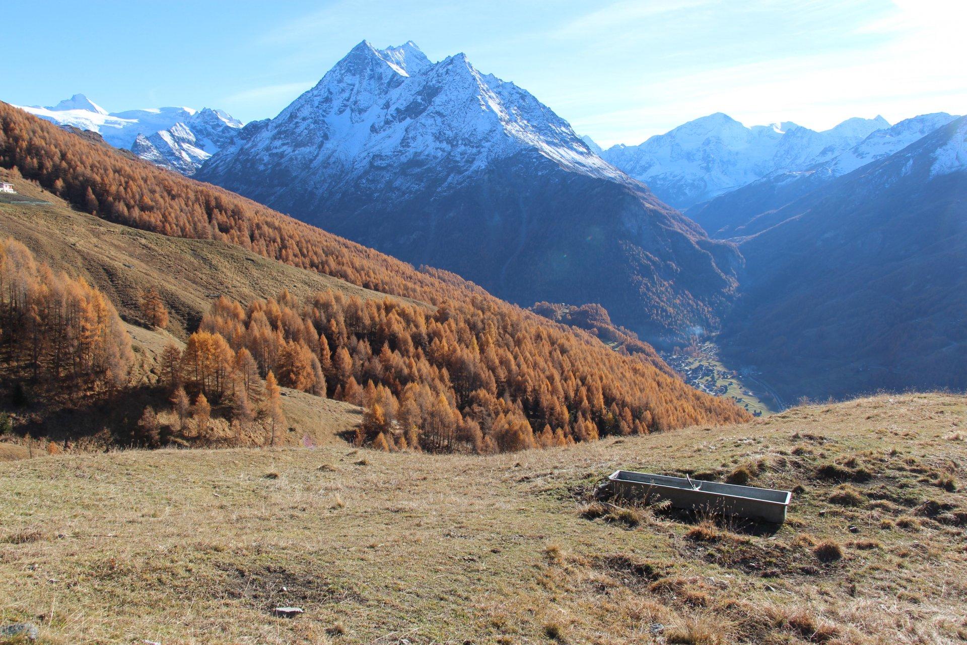 3 randos automnales au Val d'Hérens