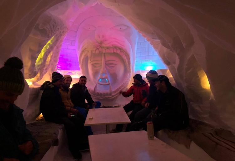 Gens d'Hérens : Marcio, perchiste de téléski et artiste sur neige
