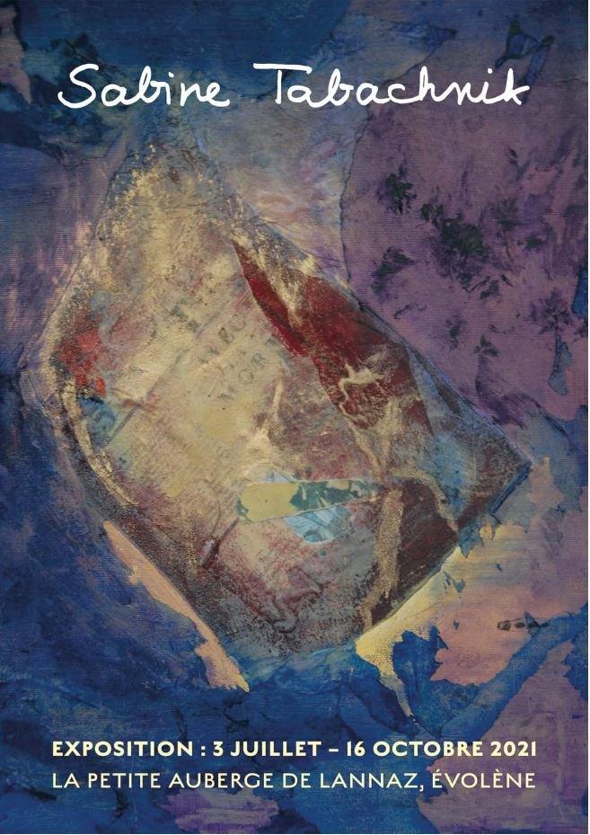 Ausstellung der Gemälde von Sabine Tabachnik