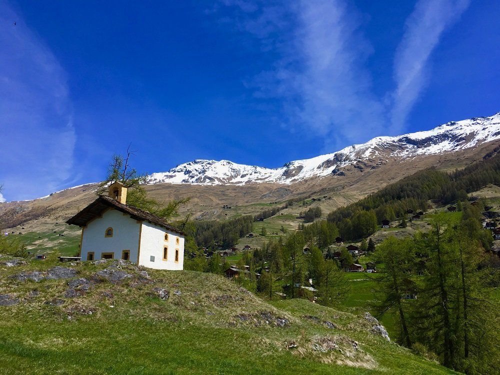 Trail n°1 : La Chapelle St-Christophe