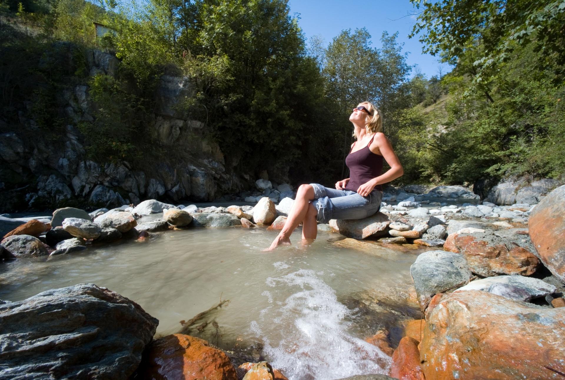 Les sources d'eau chaude de Combioula