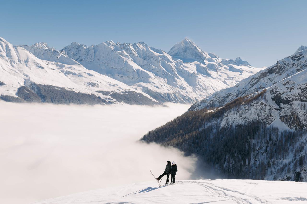 Espace Dent-Blanche - Secteur ski de Télé-Evolène