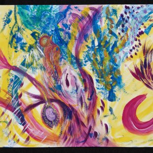 Intuitive painting and meditation workshop