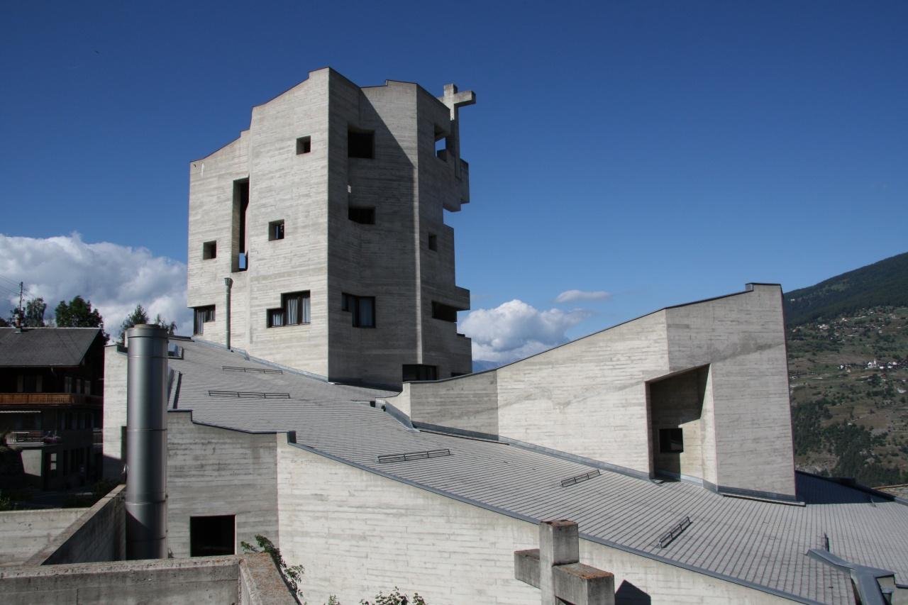 The Church of Hérémence