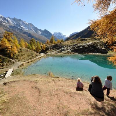 Hike to Arolla's blue lake / Lac Bleu