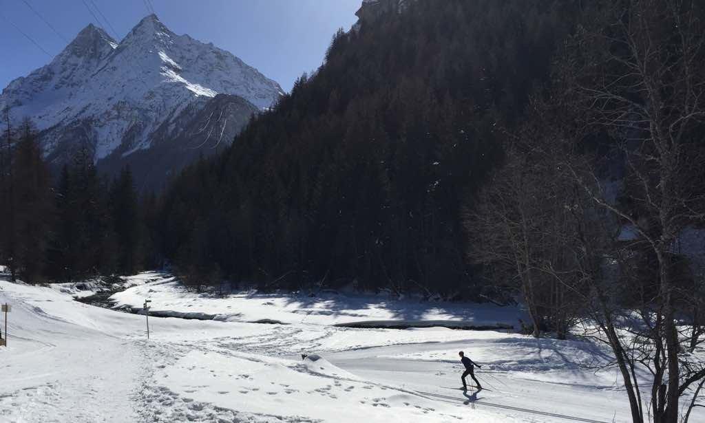 Cross country trails Evolène / Les Haudères
