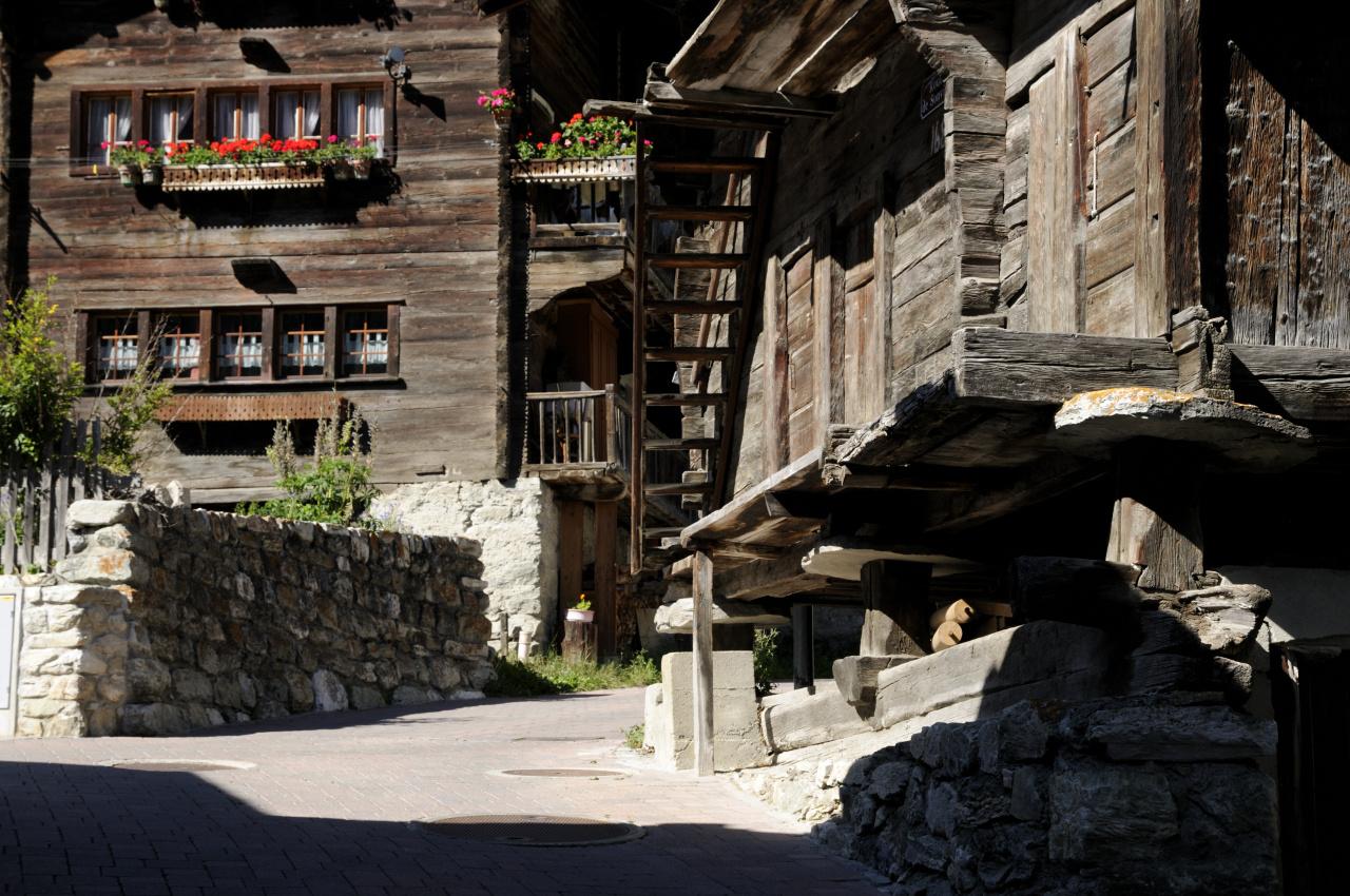 Visite guidée du village d'Evolène
