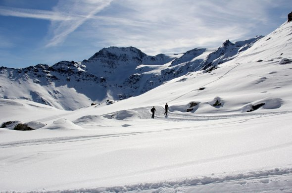 Introduction to all aspects of winter touring in the Val d'Hérens-41863