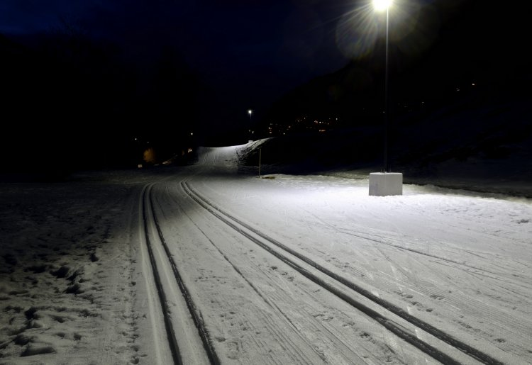Cross country by night