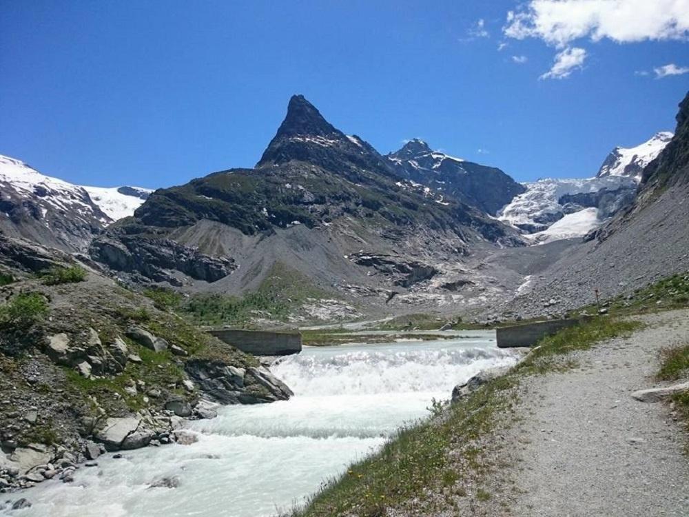 Barrage de Ferpècle - Glacier du Mont Miné