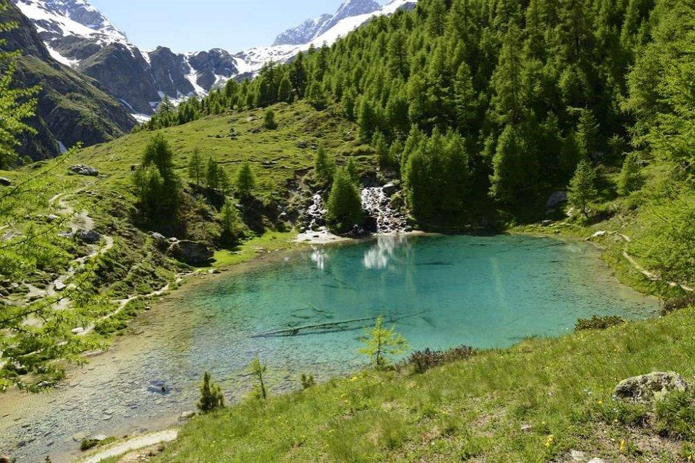 Le Lac Bleu d'Arolla