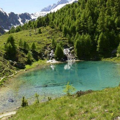 Lac Bleu (Blausee) von Arolla