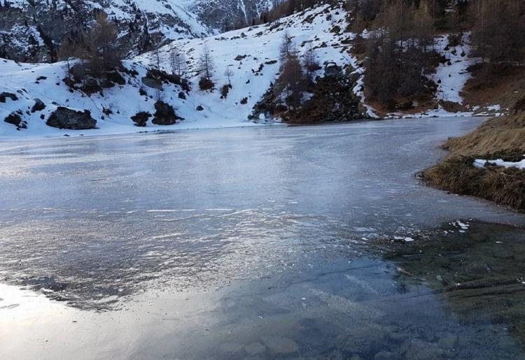Sentier raquettes : La Gouille - Le Lac Bleu