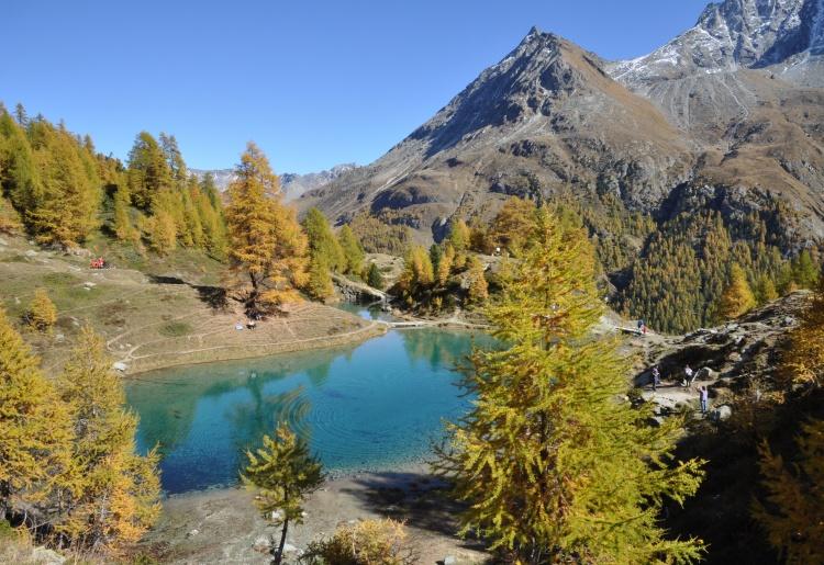 Lac Bleu d'Arolla - Arolla's blue lake
