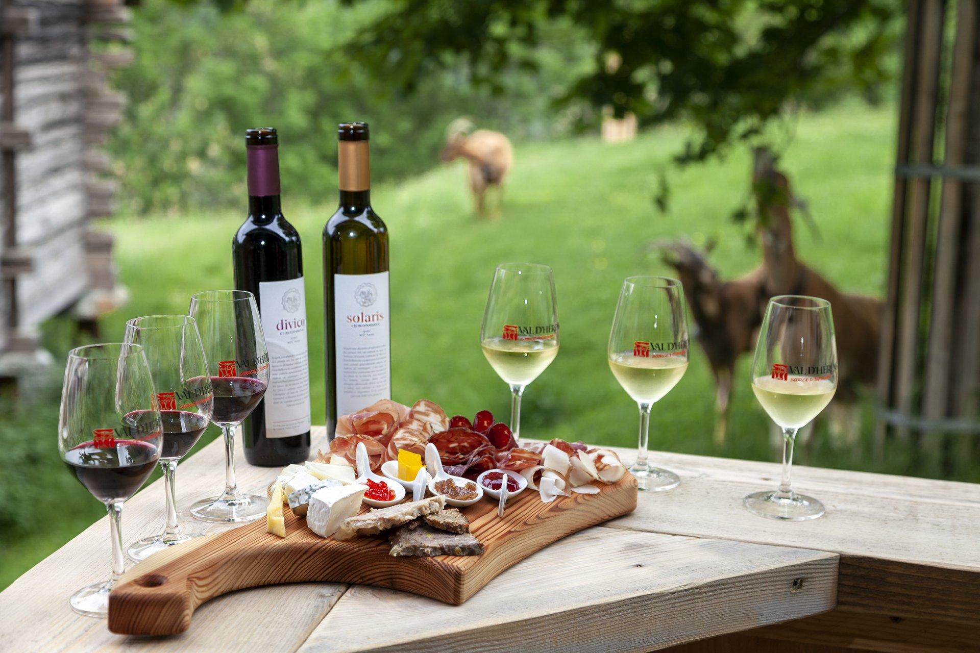 Le vin Solaris et Divico d'Ossona