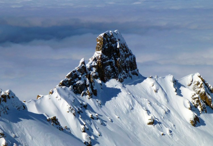 Randonnées hivernales à Saint-Martin, le versant du soleil !