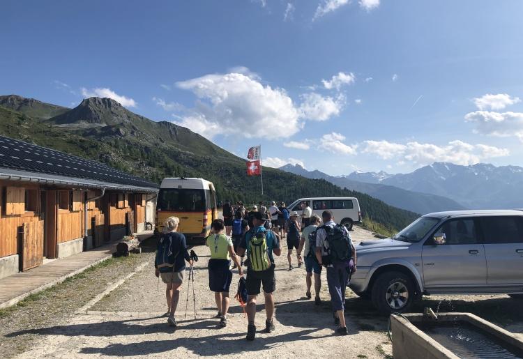Alpweiden-Bus