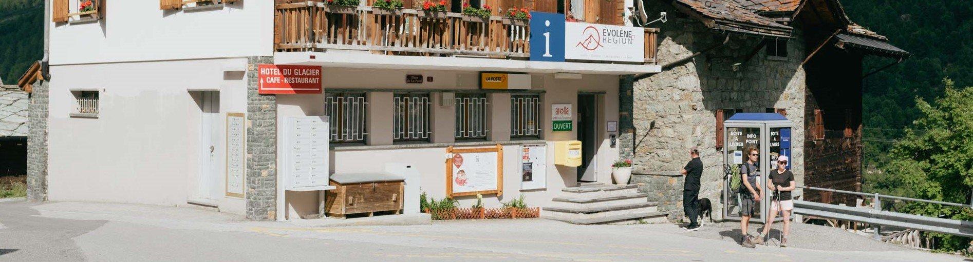 Office du Tourisme et poste d'Arolla