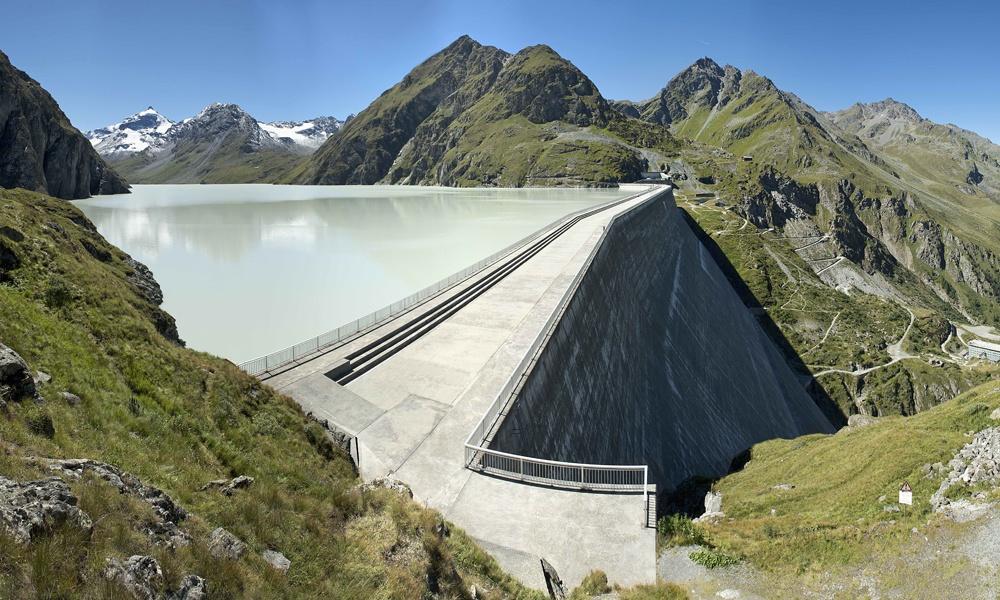 Le barrage de la Grande Dixence