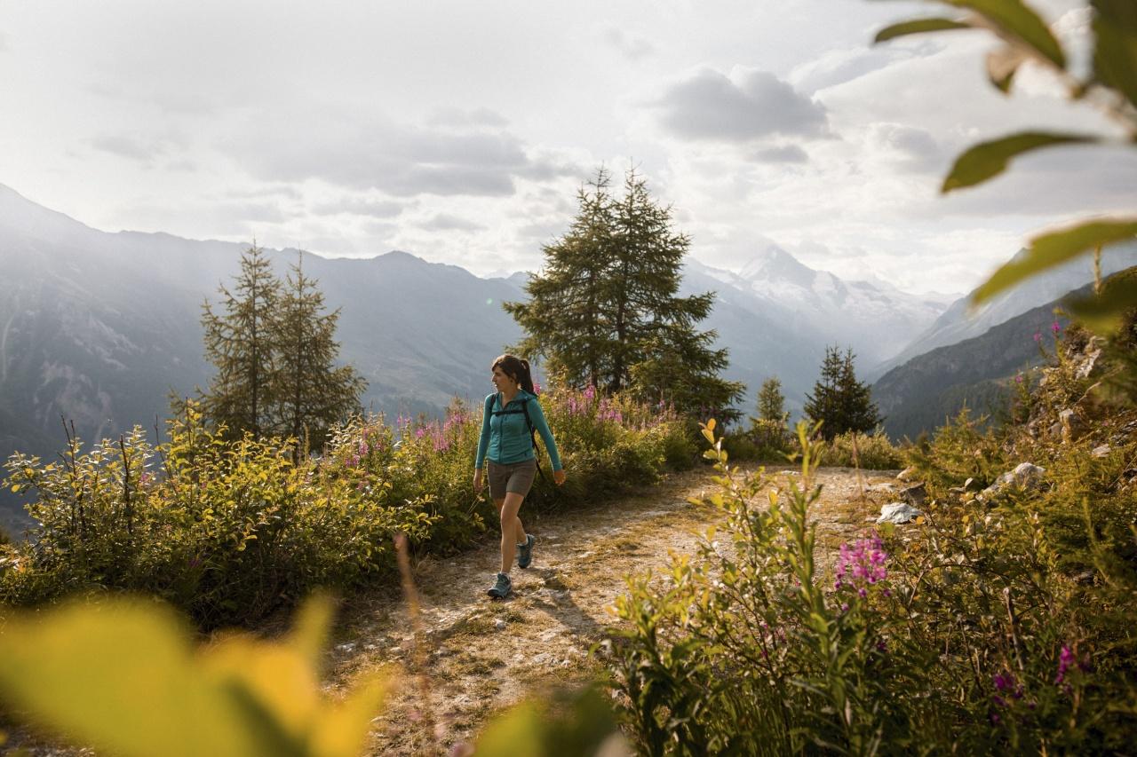 Du village d'Evolène aux alpages de Chemeuille et Mandelon