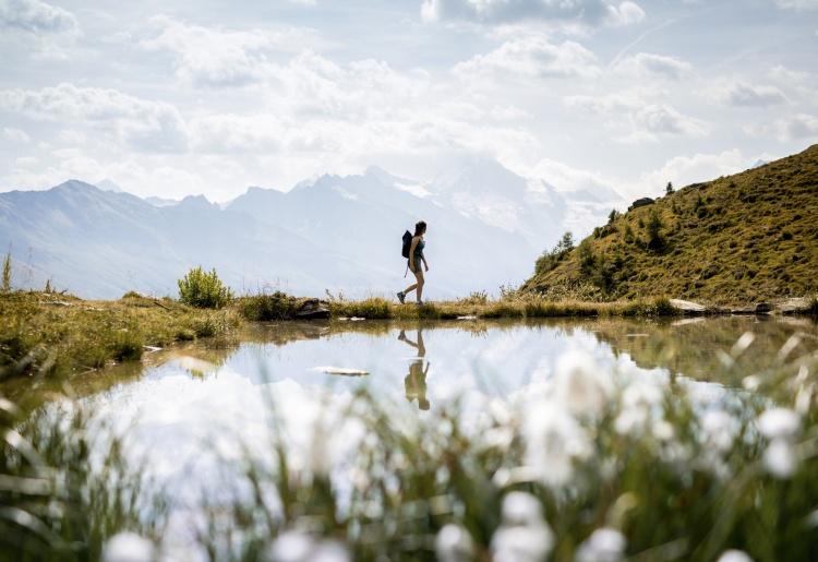 D'Evolène aux alpages de Chemeuille et Mandelon