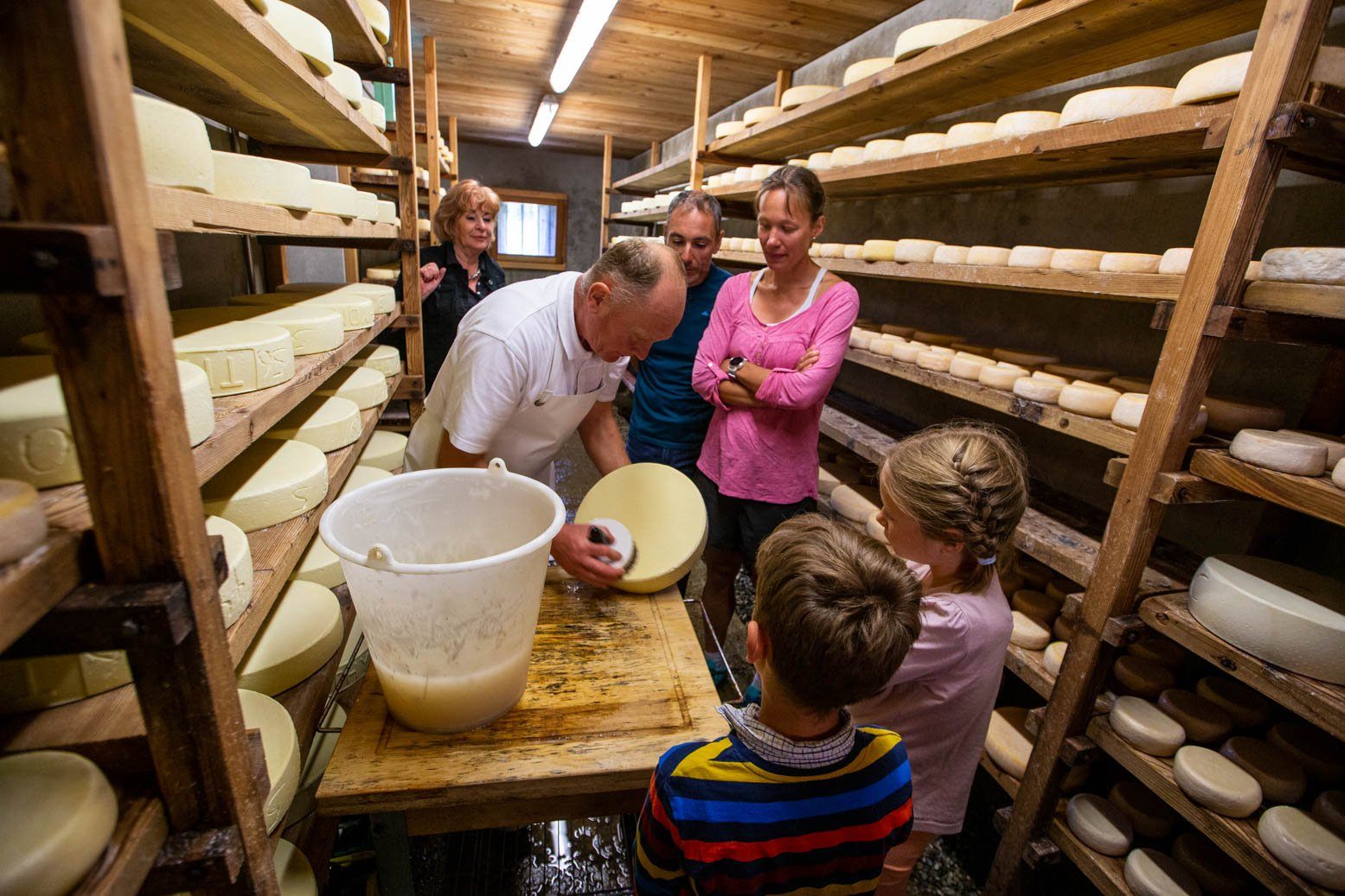 Visit of the alpine pastures & cheese of Thyon
