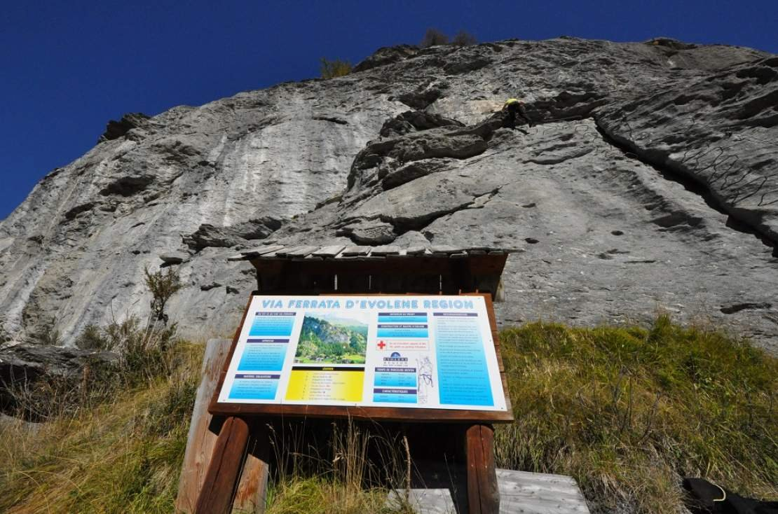 Evolène - Via Ferrata-40366
