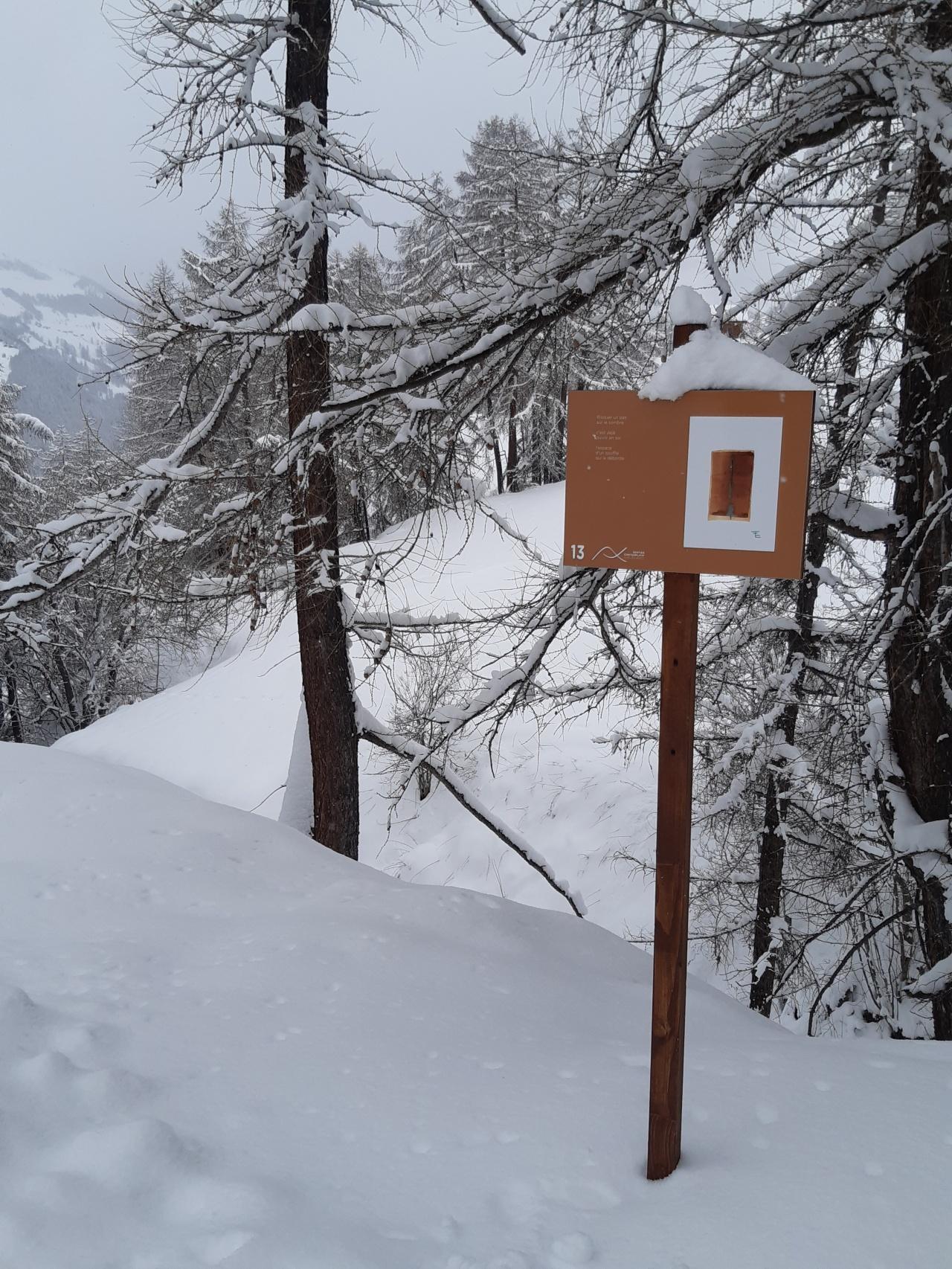 Sentier contemplatif - Sur Les Rocs