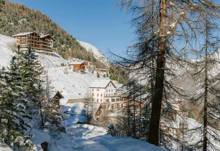 Arolla, dernier village du Val d'Hérens