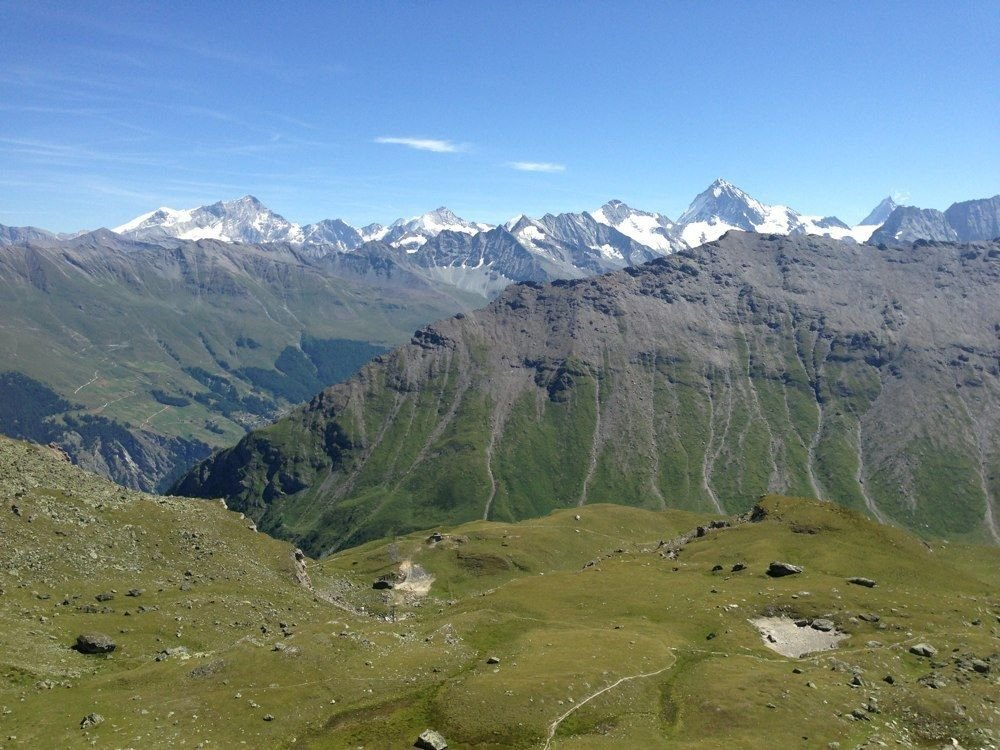 Guided hike to the Pic d'Artsinol (2998m) and Lac d'Arbey