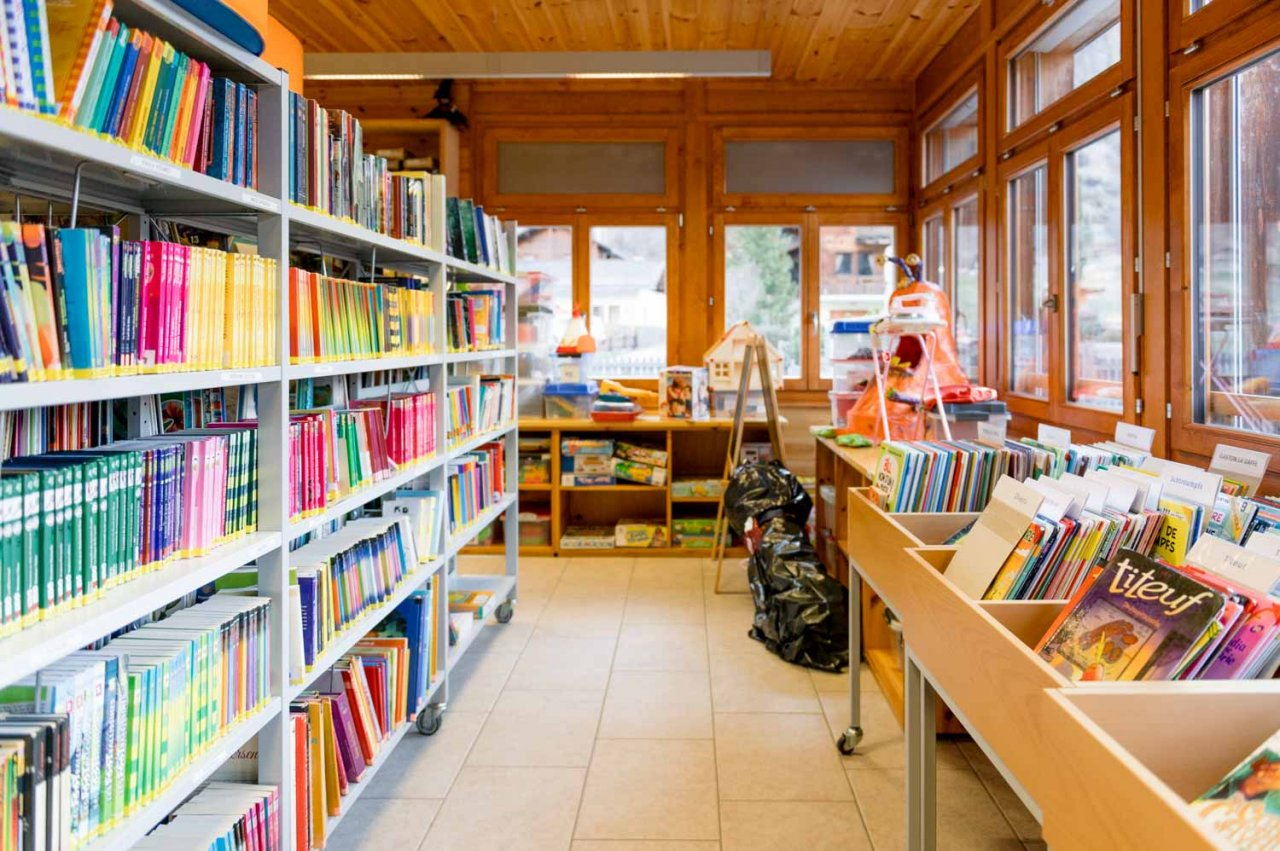 Bibliothèque d'Evolène