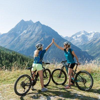 Mountainbiken & E-BIKE - Die Haute Route Chamonix - Zermatt