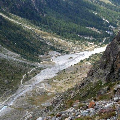 Arolla - Glacier d'Arolla