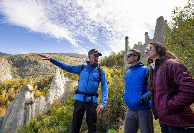 Geführte Wanderung zu geologischen Highlights