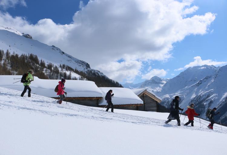 Randos-raquettes au Val d'Hérens