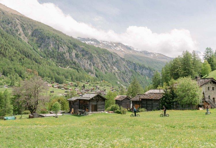 Trottinettes - Evolène-Région