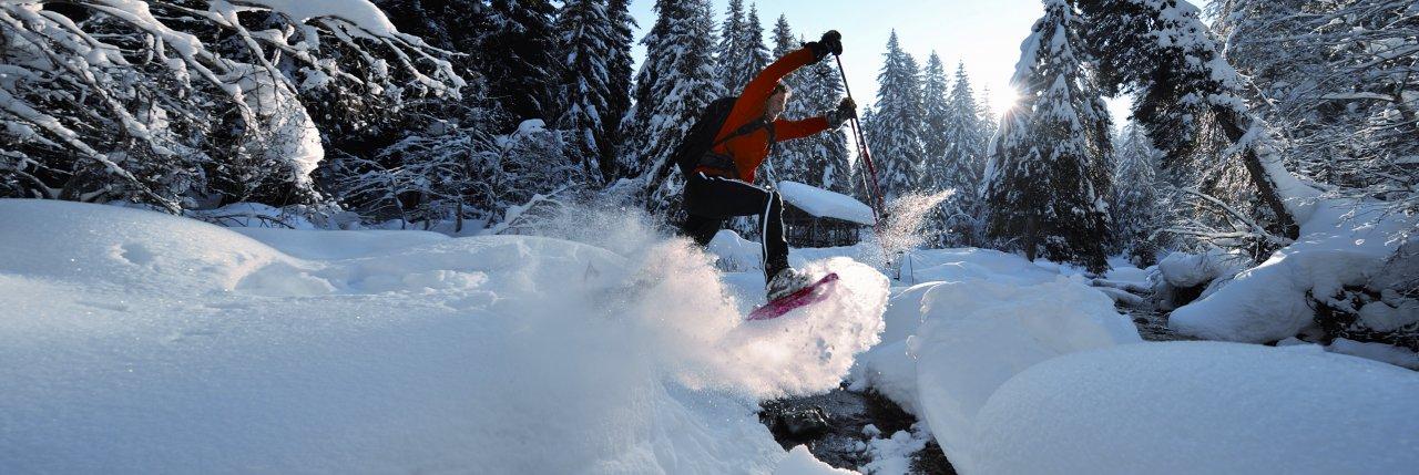 Saint-Martin snowshoes trails