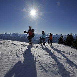 Plaisirs et découverte de la neige